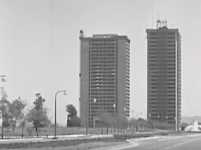 The Towers as seen in 1965